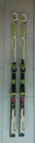 FISCHER 180cm worldcup GS narty komórkowe gigantowe serwisowe