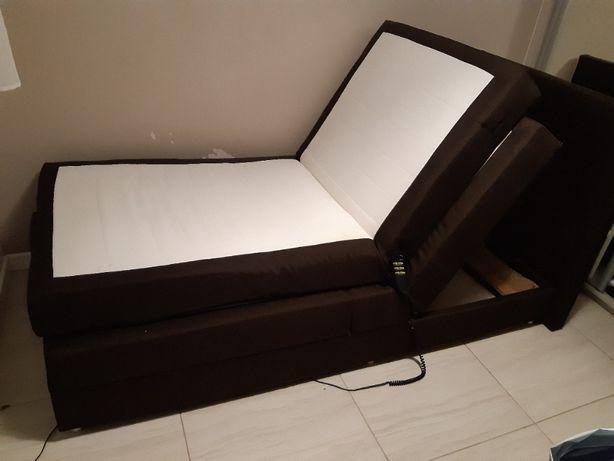 Łóżko elektrycznie regulowane rehabilitacyjne przeciwodleżynowe