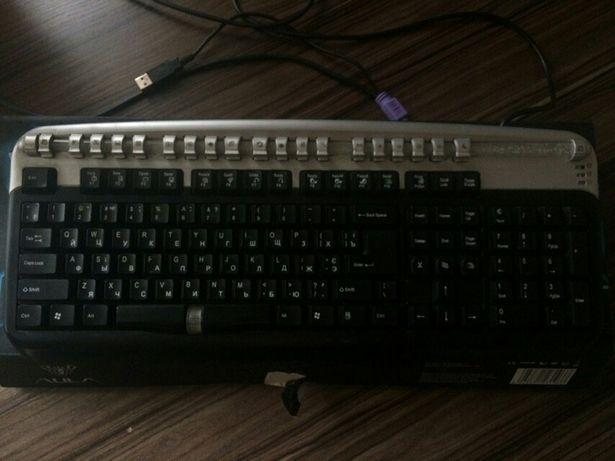 Мембранная клавиатура с USB или со старым входом