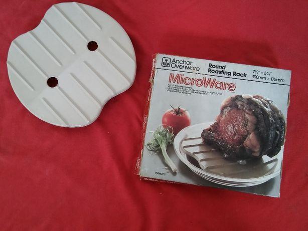 Wkładka do kuchenki mikrofalowej, podstawka do pieczenia bez tłuszczu