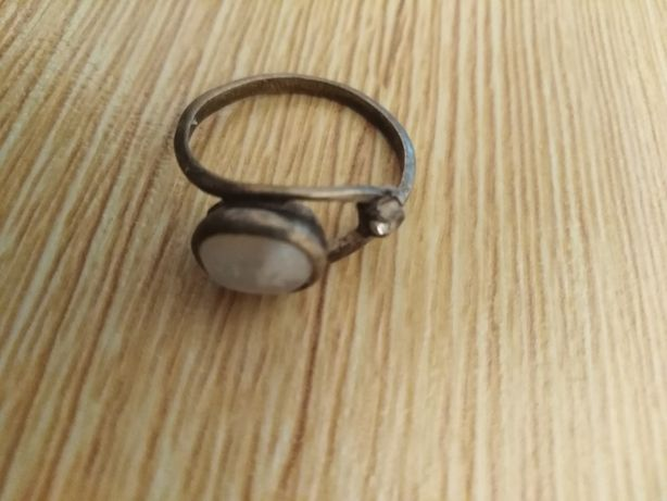 Pierscionek srebro rozmiar 17-18 oko
