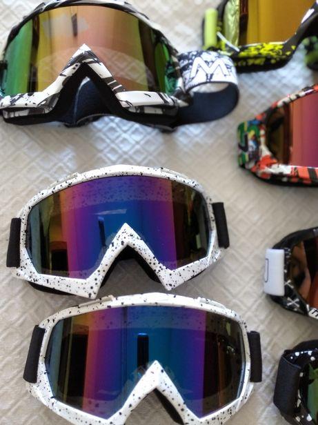Vendo óculos novos para motocross snowboard downhill