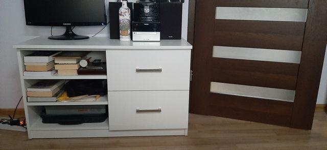 Szafka biała z szufladami
