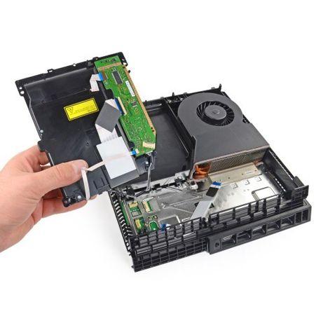 Чистка, замена термопасты, Ps4 ремонт Playstation 4. Ремонт геймпадов
