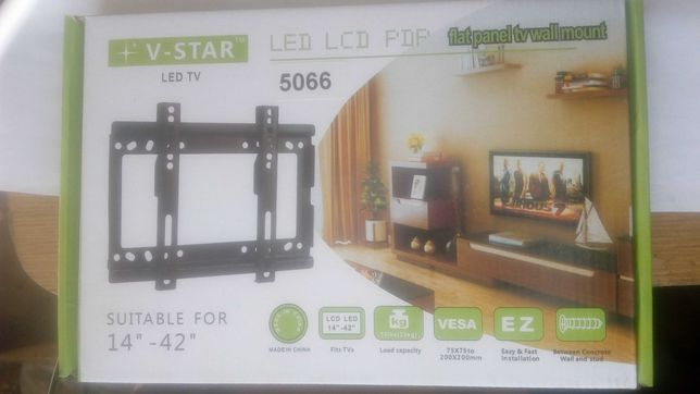 Крепление телевизора к стене 14-42 дюйма.