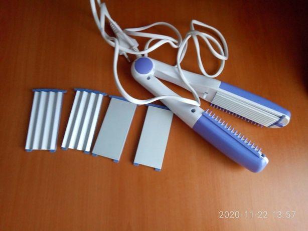 Стайлер Aurora AU 201. Щипцы для волос. Плойка . Утюжок для волос