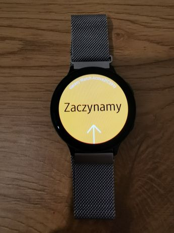 Samsung  Watch Active 2 44mm. Gwarancja. Dwie bransoletki