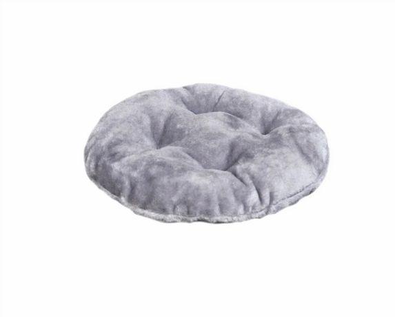 Подушка-лежанка Мур-Мяу кругла [Сіра]