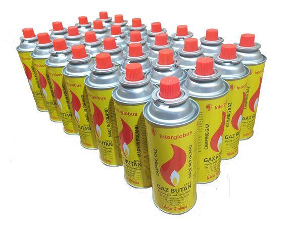 Kartusze gazowe karton kamping gaz nabój 28 szt