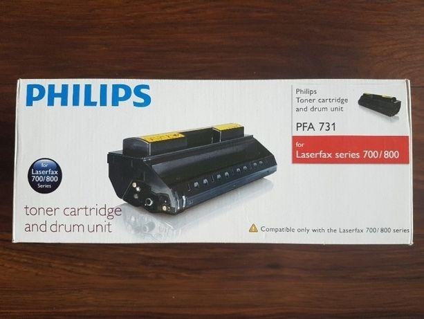 ORYGINAŁ Philips Toner Cartridge and drum unit PFA 731 laserfax700/800