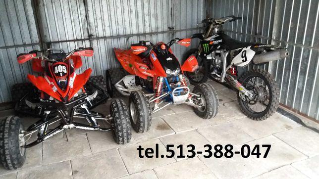 Skup quad, quadów , crossów, motocykli, Naprawa Serwis Transport.