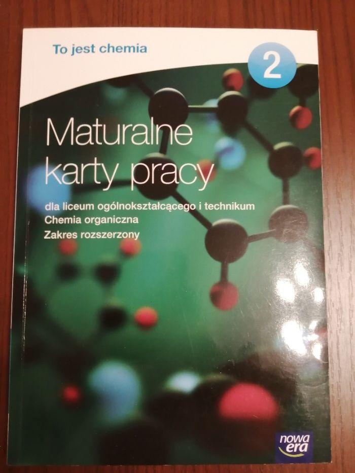 Chemia. Maturalne karty pracy 2 . Chemia organiczna Błonie - image 1