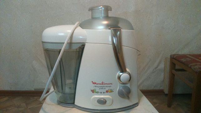 Соковыжималка центробежная Moulinex Frutti Pro plus В КАЗ 47, Испания