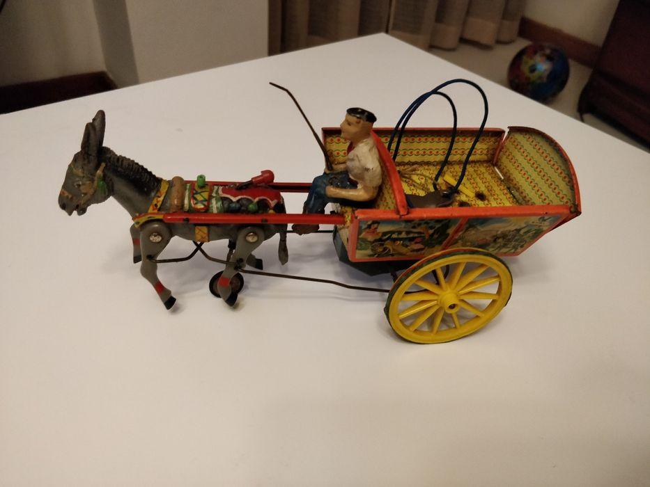 Brinquedo corda Antigo Santo António dos Olivais - imagem 1