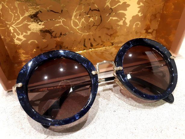 Круглые женские очки от Miu Miu! Оригинал!