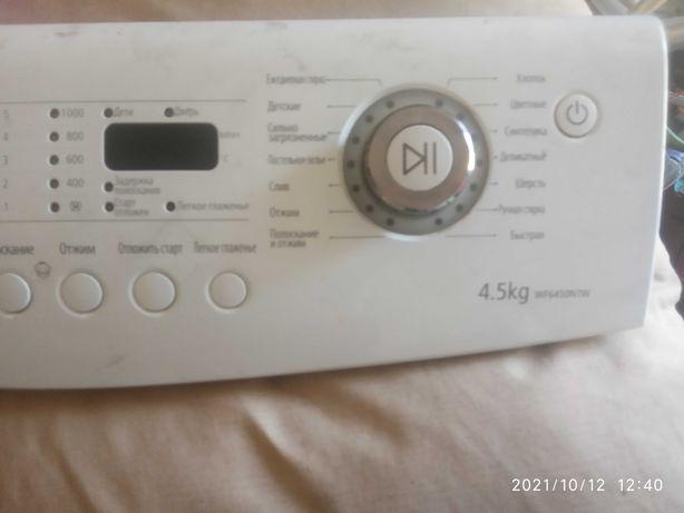 Панель управления стиральной машины самсунг