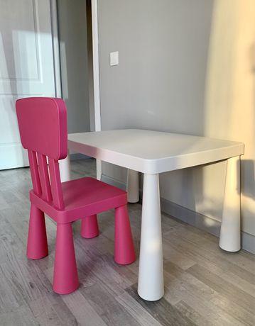 набор детской мебели икеа маммут стол и стул ikea mammut