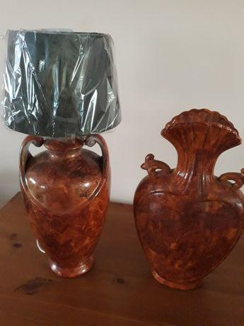 Sprzedam lampę i wazon Nowe
