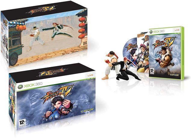Street Fighter 4 collector's edition jogo não incluído