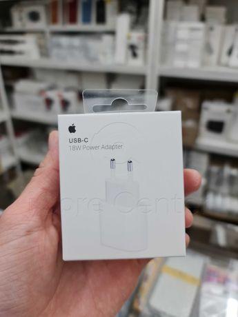 Apple Power Adapter адаптер 18W Быстрая зарядка кабель блок ОРИГИНАЛ!