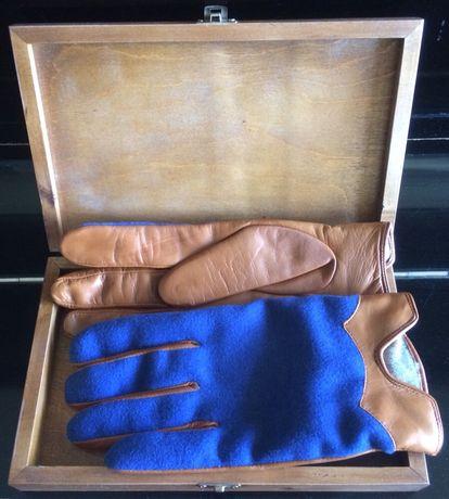 Перчатки кожаные ручная работа