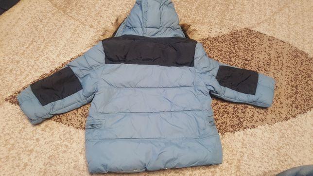 Dziecięca kurtka zimowa Zara BabyBoy