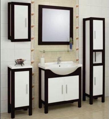 Nowa Szafka łazienkowa Cadre 65 ciemny orzech, umywalka Bahama 65