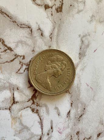 One pound 1983