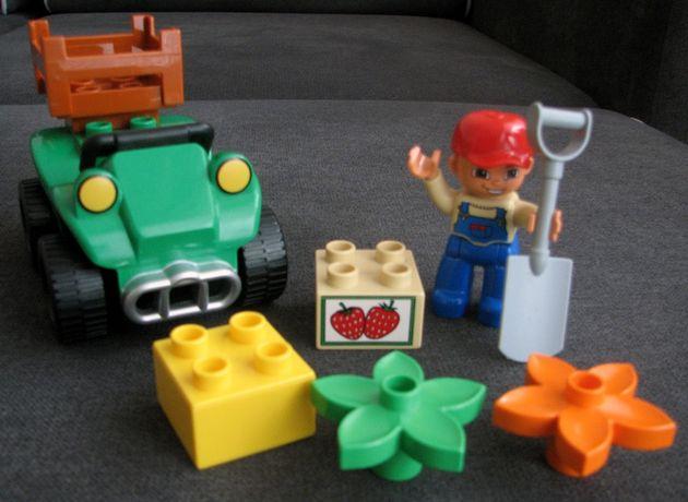 Klocki LEGO DUPLO - quad farmera nr katalogowy 5645