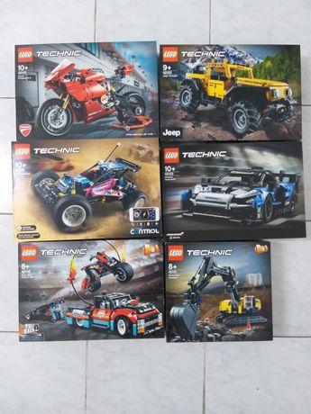 Lego Technic 42106 / 42107 / 42121 / 42122 / 42123 / 42124