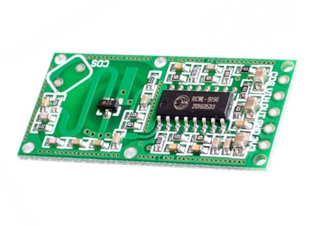 RCWL-0516 Датчик arduino