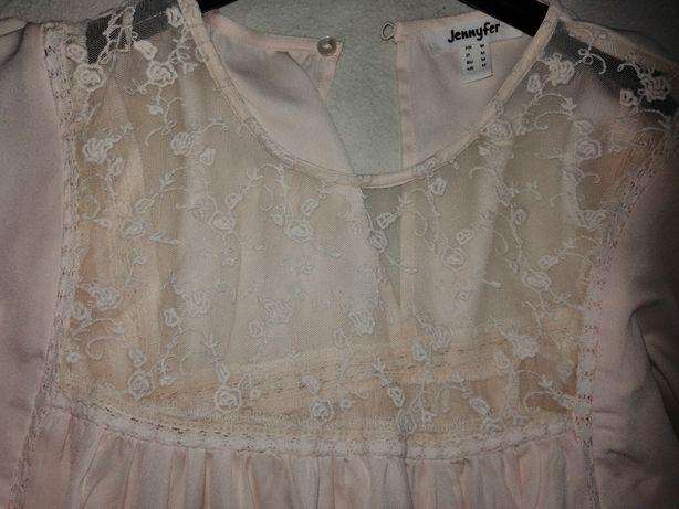 Bluzka, spodniczka damska i sukienka
