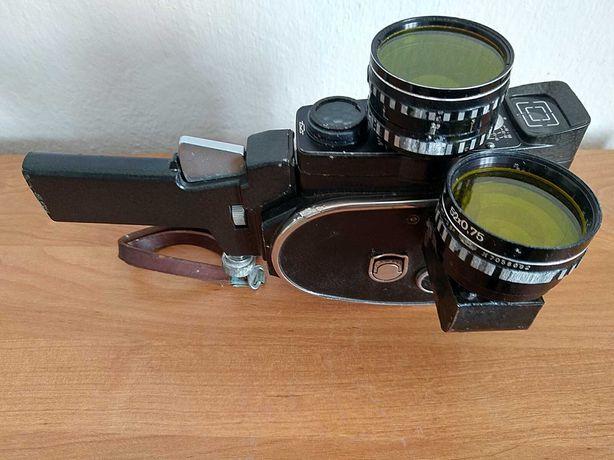 Відеокамера / кінокамера Кварц 2х8S-1M в робочому стані, антикваріат