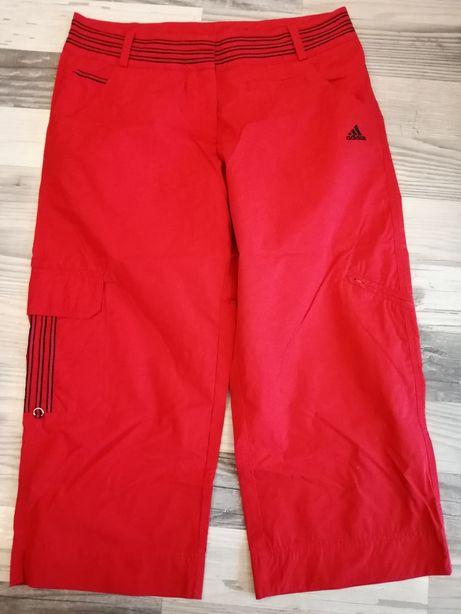 Czerwone rybaczki Adidas 42