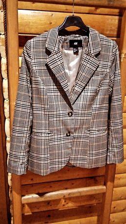 Пиджак в клетку H&M
