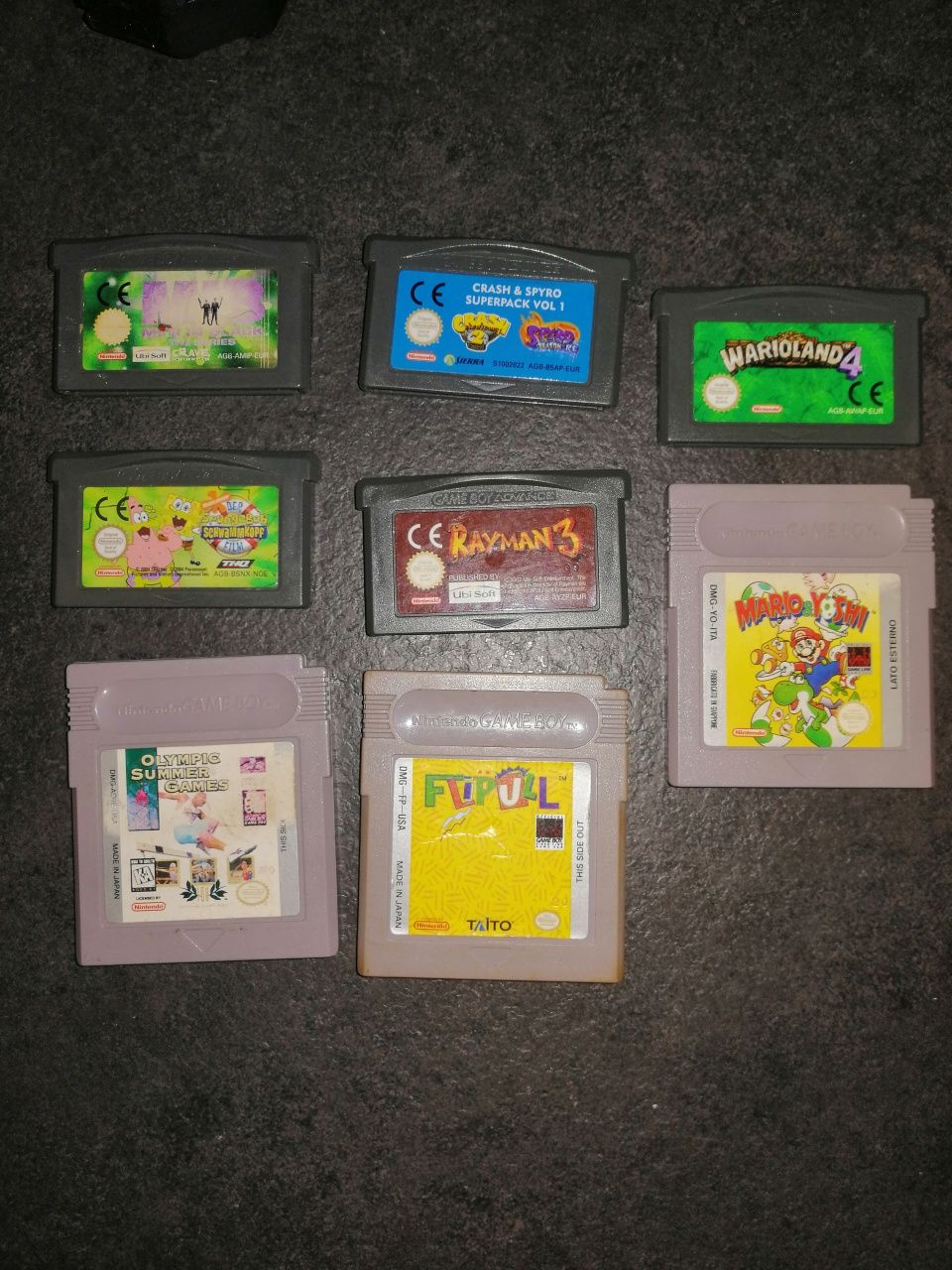 Gry Game Boy / Game Boy Advance