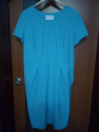 Платье женское берюзового цвета