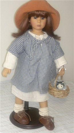 коллекционная кукла Maria от Bettina Feigenspan-Hirsch для Zapf