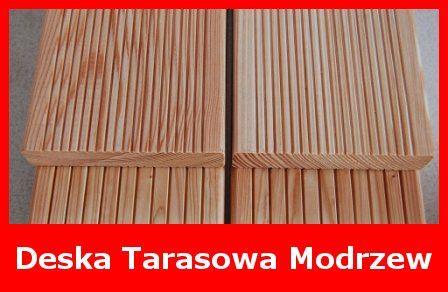 Deska Tarasowa Ryflowana Modrzew
