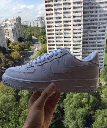 Кроссовки для отдыха и спорта Nike Air Force White Nike Airforce