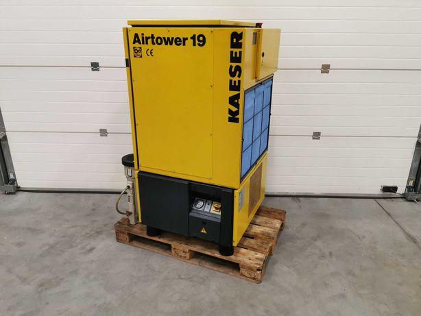 Sprężarka śrubowa 11kw KAESER kompresor 1700l/min +OSUSZACZ! 10 bar