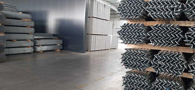 Rusztowanie ramowe Aluminiowe Typ LAYHER (37,80m2)