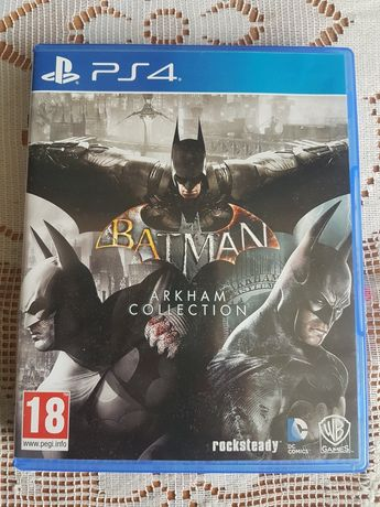 Batman Arkham Collection Game of The Year PS4. PL
