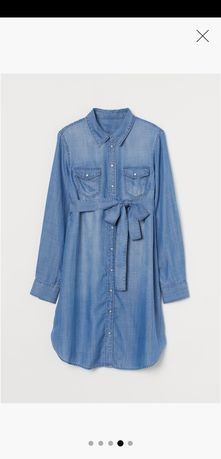 Sukienka ciążowa, H&M, rozm. M, kolekcja 2020.