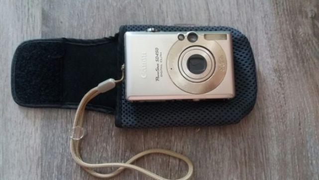 Sprzedam aparat cyfrowy Canon PowerShot SD450