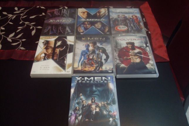coleçao original x-men 7 filmes