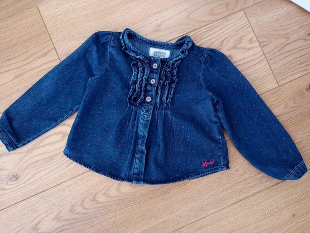 Bluzeczka jeansowa Levi's 1-2 latka