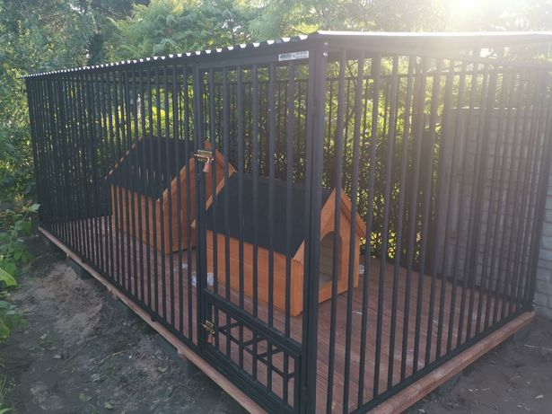 Kojce Klatki Boksy Kojec dla psa 5x2,5m
