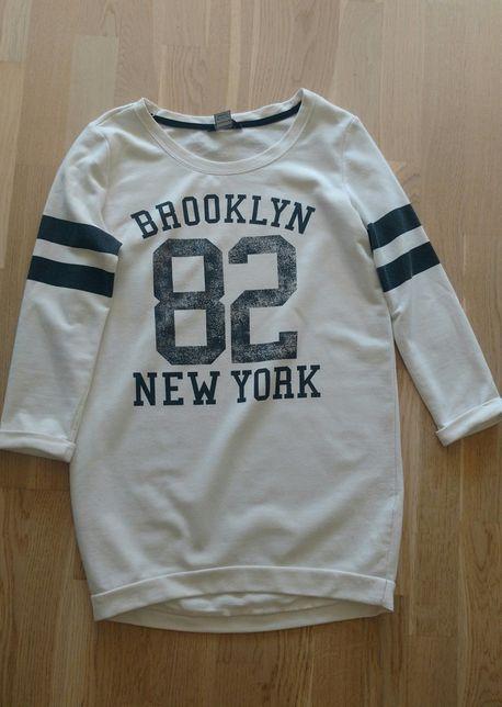 Bluza przedłużana f&f brooklyn new york xs 34