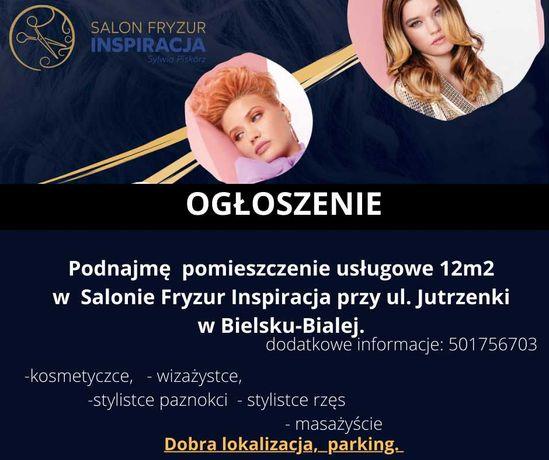 Podnajmę  pomieszczenie usługowe w  Bielsku-Bialej.